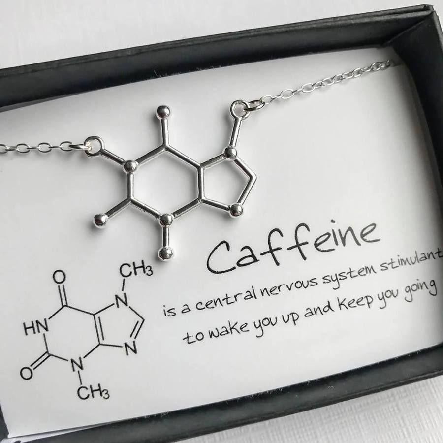 Photo of Caffeine Molecule Necklace