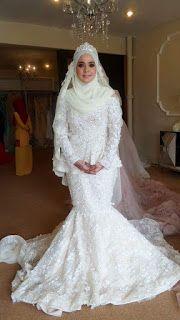 Baju Akad Nikah Terkini Hijab Brides Di 2019 Gaun Dan Pernikahan
