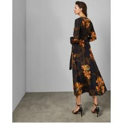 Photo of Wickelkleid Mit Caramel-print Ted Baker