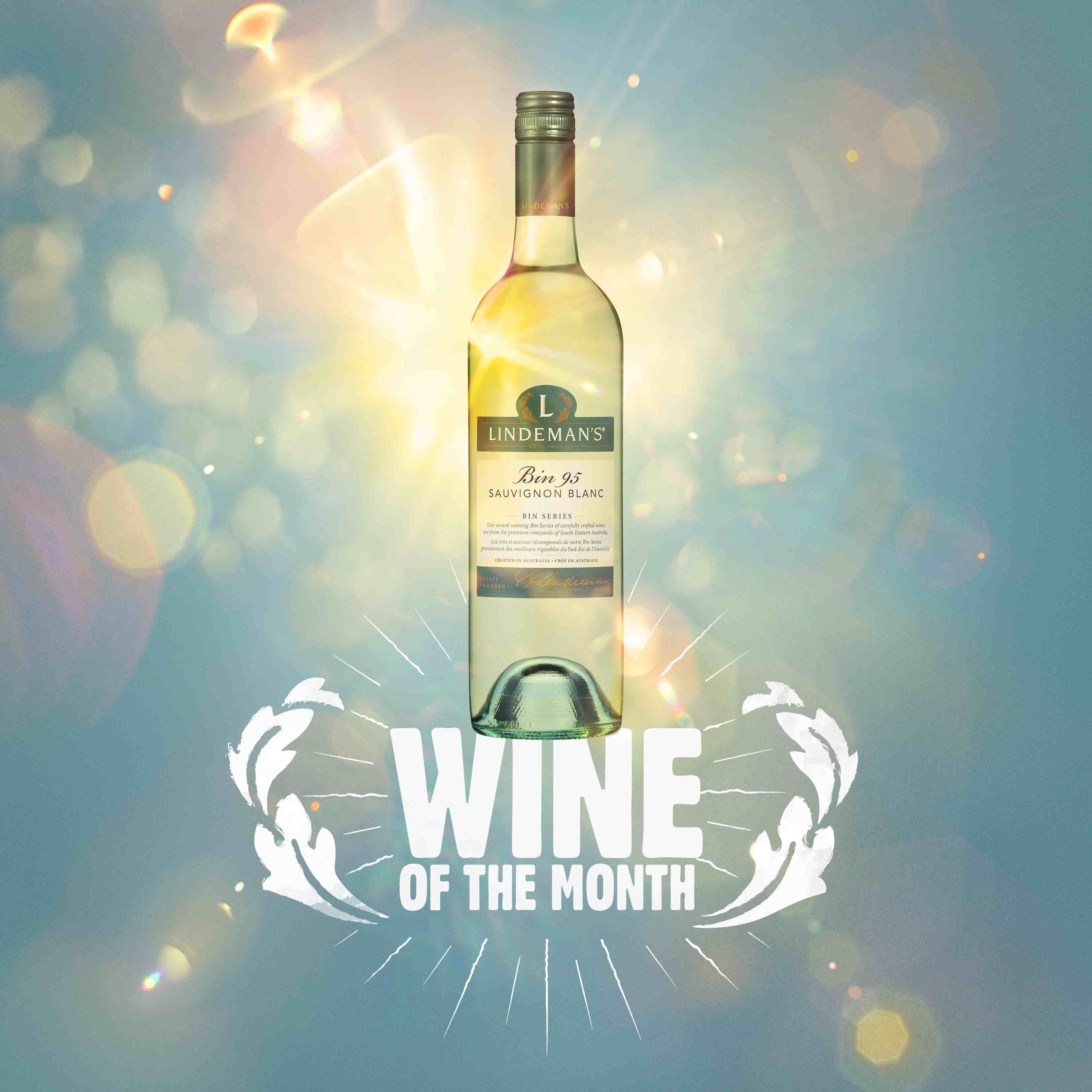 May's Wine of the Month is Bin 95 Sauvignon Blanc. A refreshing, fruity wine that suits all tastes and occasions.   Get all the details here http://bit.ly/Bin95SauvignonBlanc