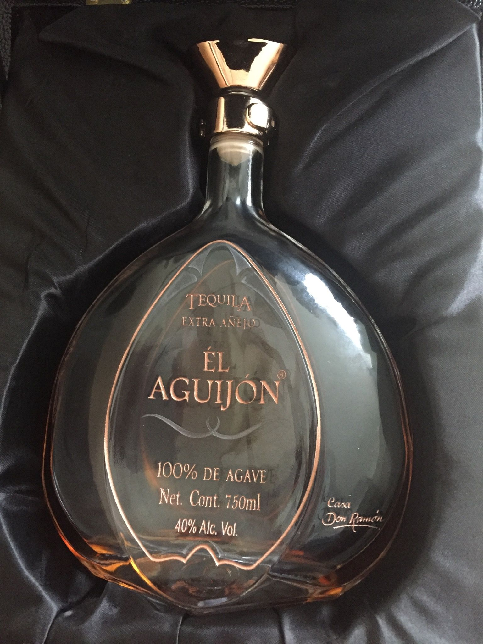 One Of The Best Tequilas In World 27 000 Usd Don Ramón