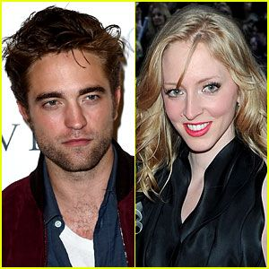 Photo of Robert Pattinson  & his  Sister  Lizzy Pattinson