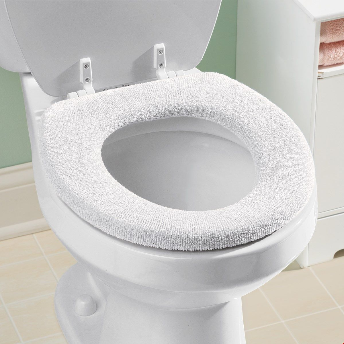 Soft N Comfy Cloth Toilet Seat Cover Toilet Seat Cover