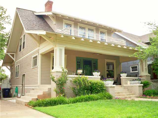 Open house sunday at 12th ideas for Craftsman style homes in okc