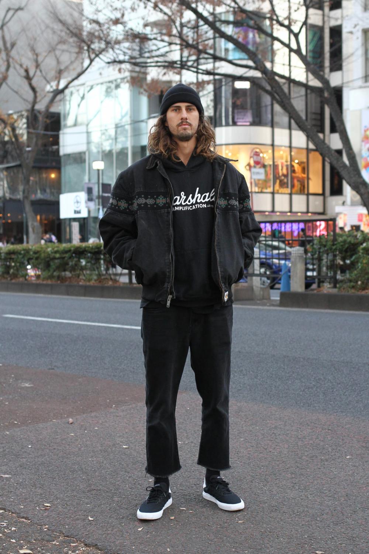 Street Style - Harajuku, Tokyo - LIam Rollsさん - FASHIONSNAP.COM
