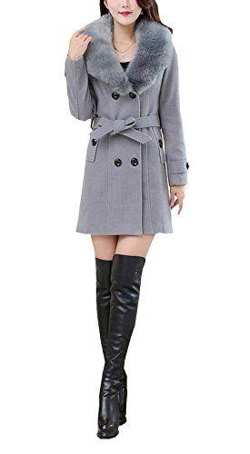 Veste en laine double femme
