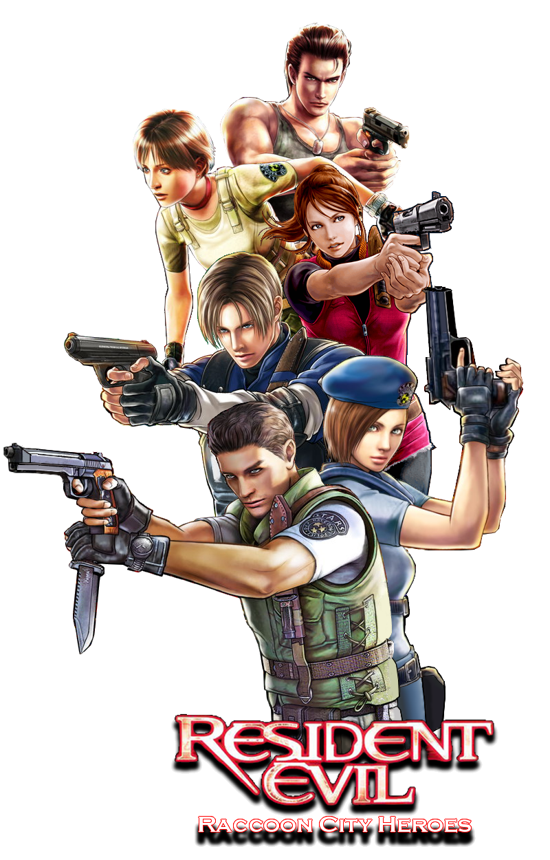 Resident Evil Raccoon City Heroes By Juniorbunny On Deviantart Resident Evil Raccoon City Resident Evil Movie Resident Evil Game