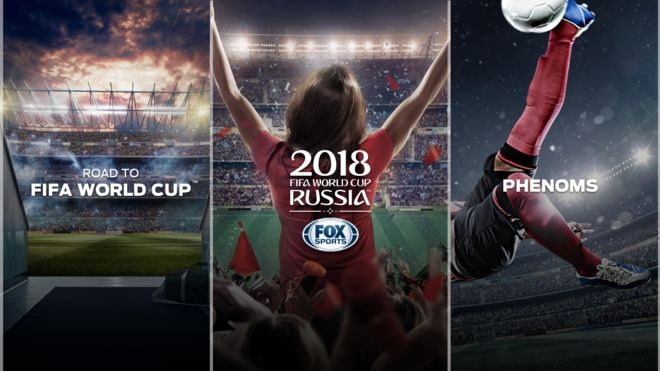 World Cup in 4K Details about FOX's 4K app from Hisense