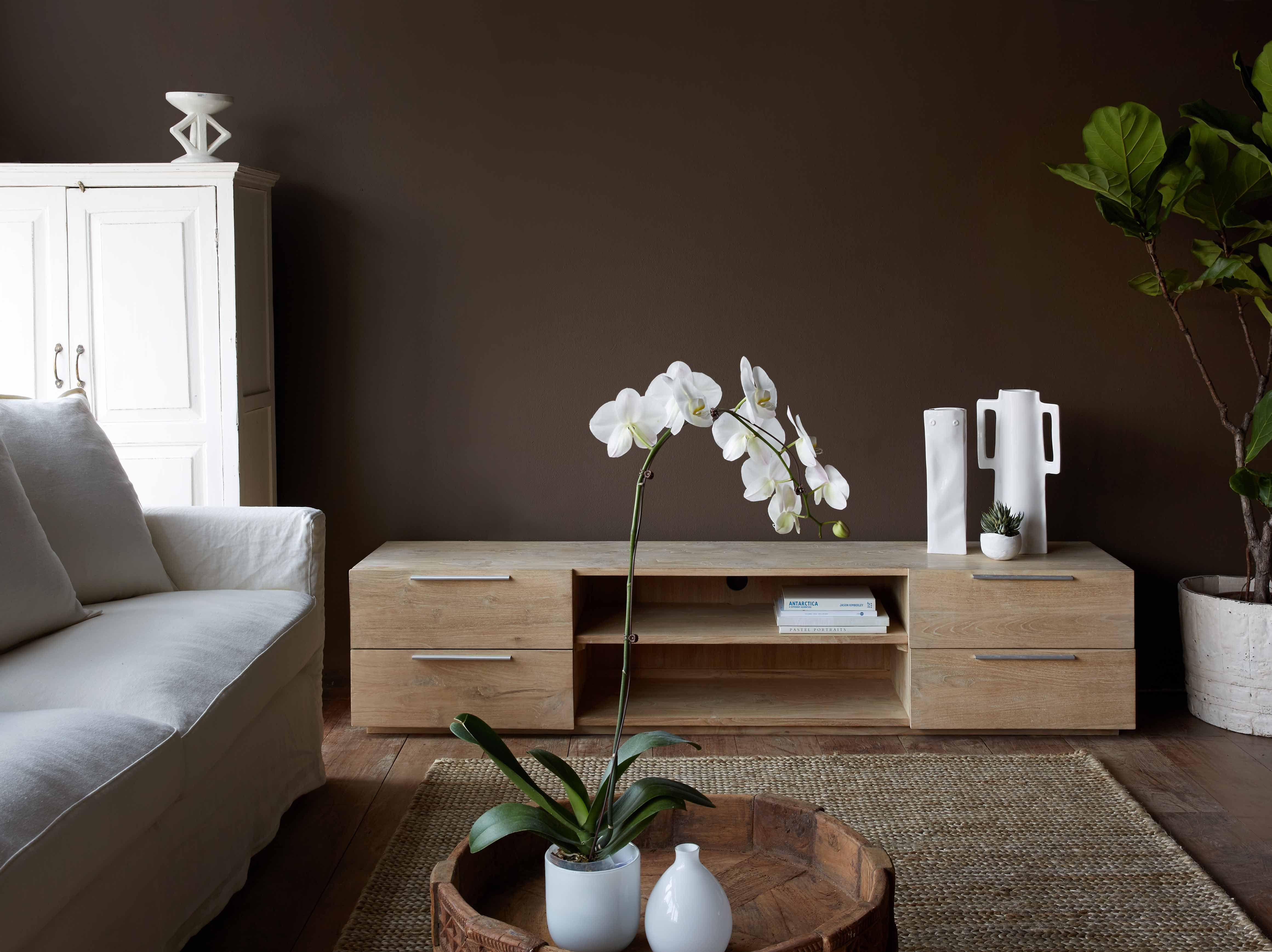 New Design From Our Nomad Java Collection Teak Box Tv Console  # Meuble Tv Universo Positivo
