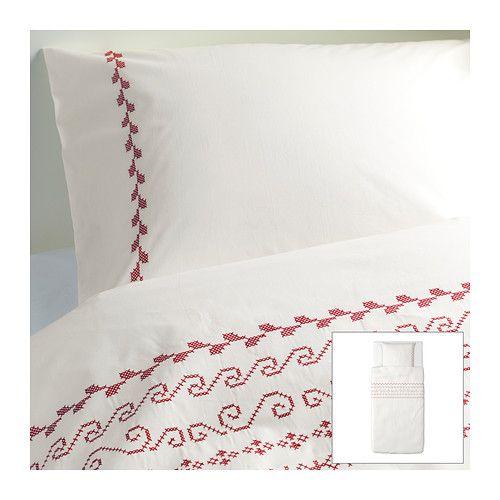ikea birgit couvre lit pillow cases linen bedding et ikea. Black Bedroom Furniture Sets. Home Design Ideas