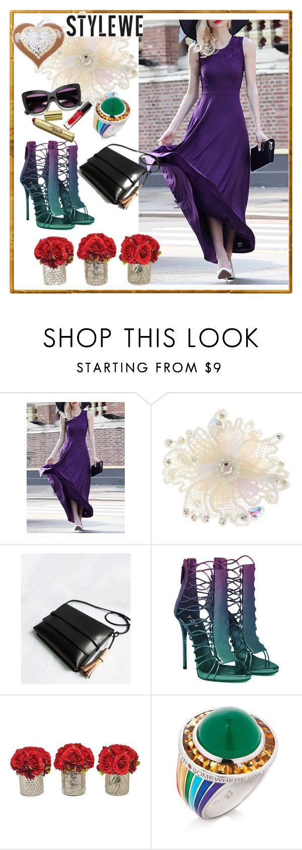 """STYLEWE #7"" by nizaba-haskic ❤ liked on Polyvore featuring Monsoon, The French Bee and Elizabeth Raine"