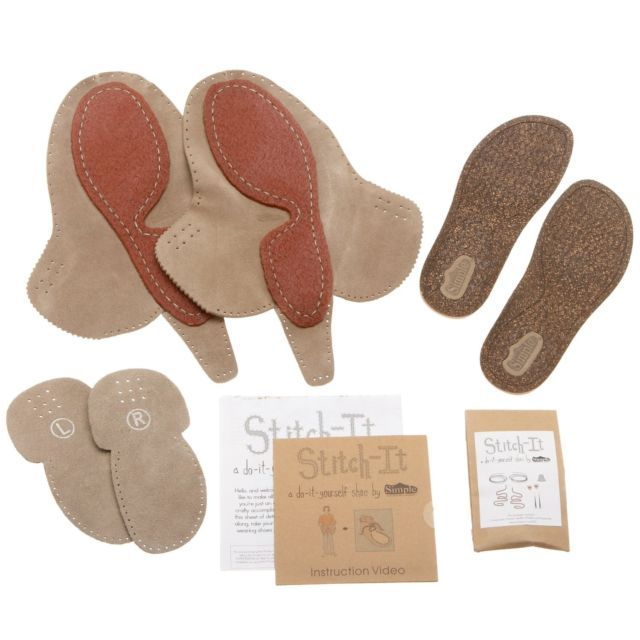 34f082338959e7 Details about Simple Shoes DIY Make Your Own Moccasin Stitch-It KIT ...
