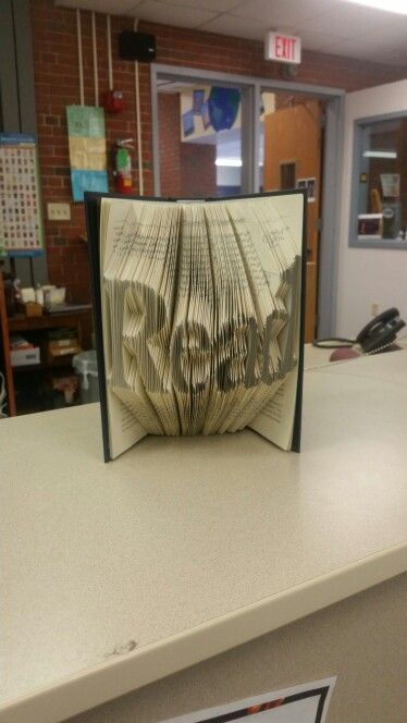 Reading foldable book
