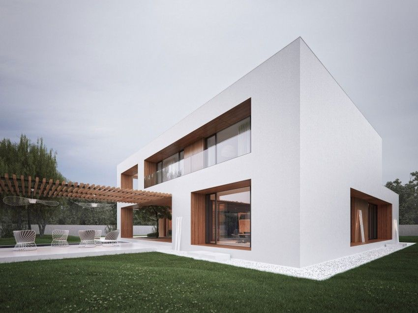 Holes House by Michal Nowak | House, Architecture and Facades