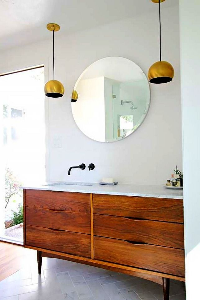 Bathroom Best Mid Century Modern Bathroom Vanity Ideas With 2 Mid Century Modern Bathroom Mid Century Bathroom Vanity Modern Bathroom Lighting