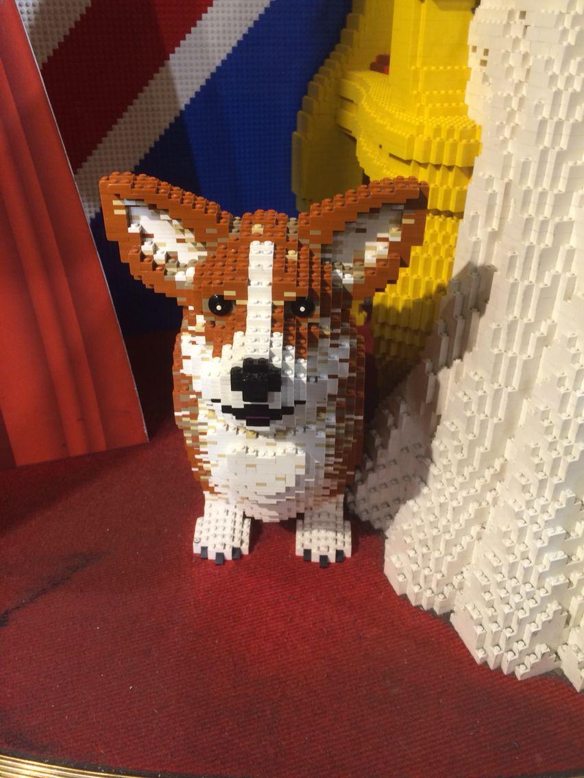 Lego Corgi Lego Sculptures Lego Art Lego Dog