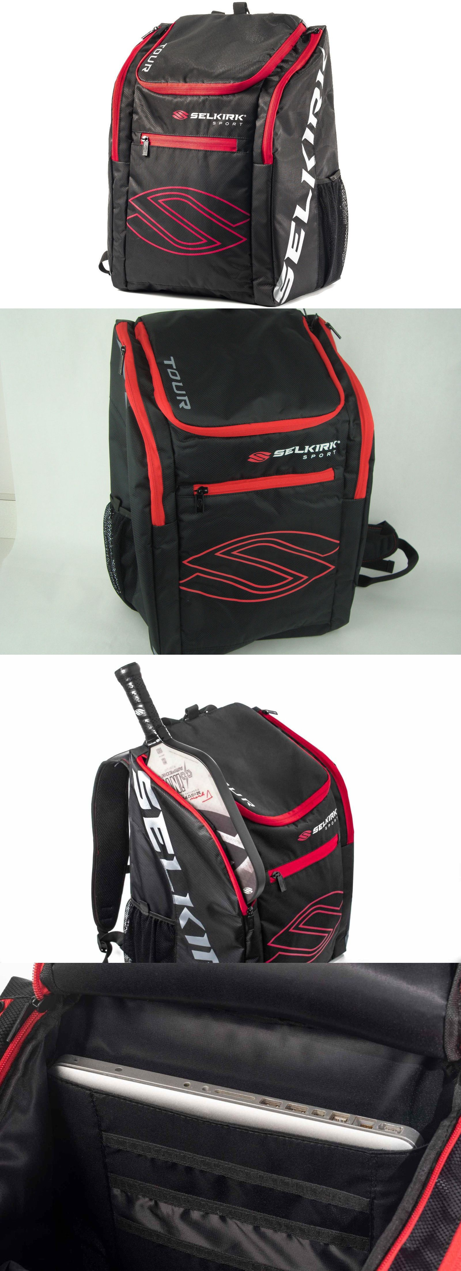 Other Tennis and Racquet Sports 159135  Selkirk Tour Performance Backpack  Bag Logo Hold All Your 019e14e8d8871