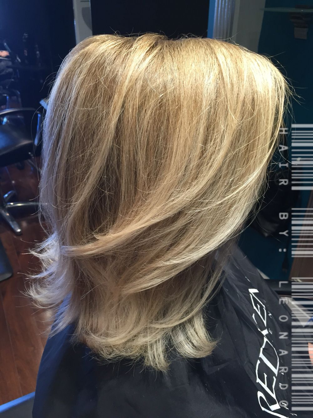 balayage hair color by leonardo martinez @ salon siren in tampa,fl