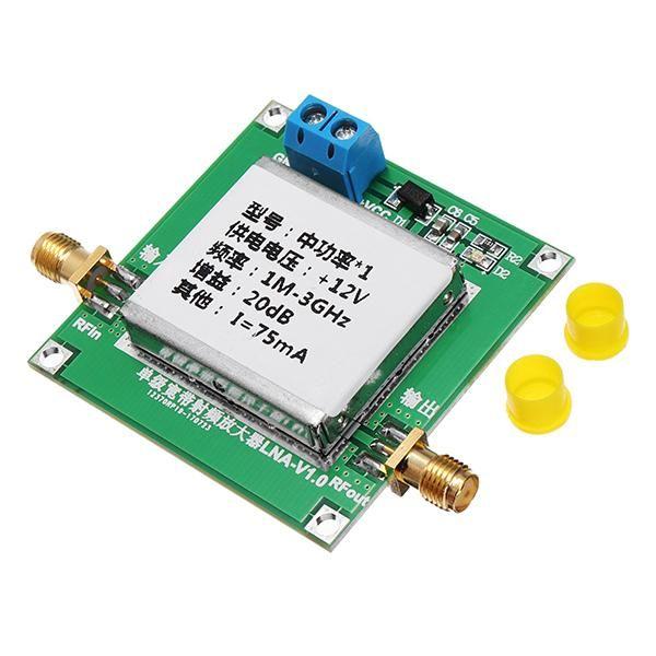 Low Noise LNA RF Broadband Amplifier Module 1-3000MHz 2 4GHz