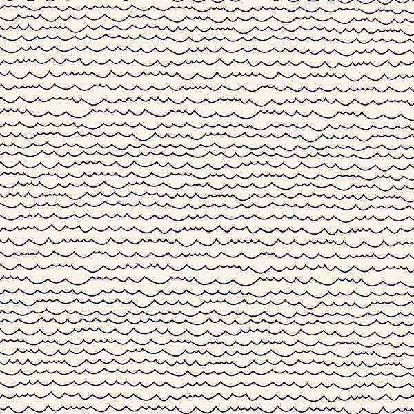 Schumacher WAVES Waves wallpaper, Black and white