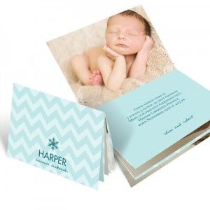 For this designer, birth announcements are child's play