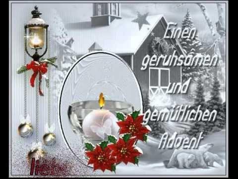 Kleiner Gruß zum 1. Advent - YouTube   - Weihnachten - #Advent #Gruß #Kleiner #Weihnachten #YouTube #zum #adventlustigerster