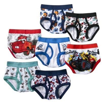7 Pack Underwear , Little Boys' Cars. $12 target.   Kid fun ...