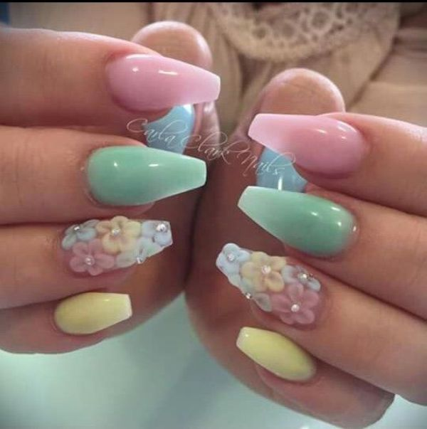 Beauty Fashion Food: Most Popular Easter Nail Colors