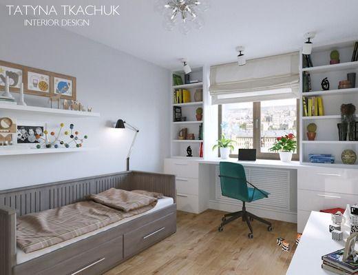Комната для мальчика подростка Детская houm salle bureau