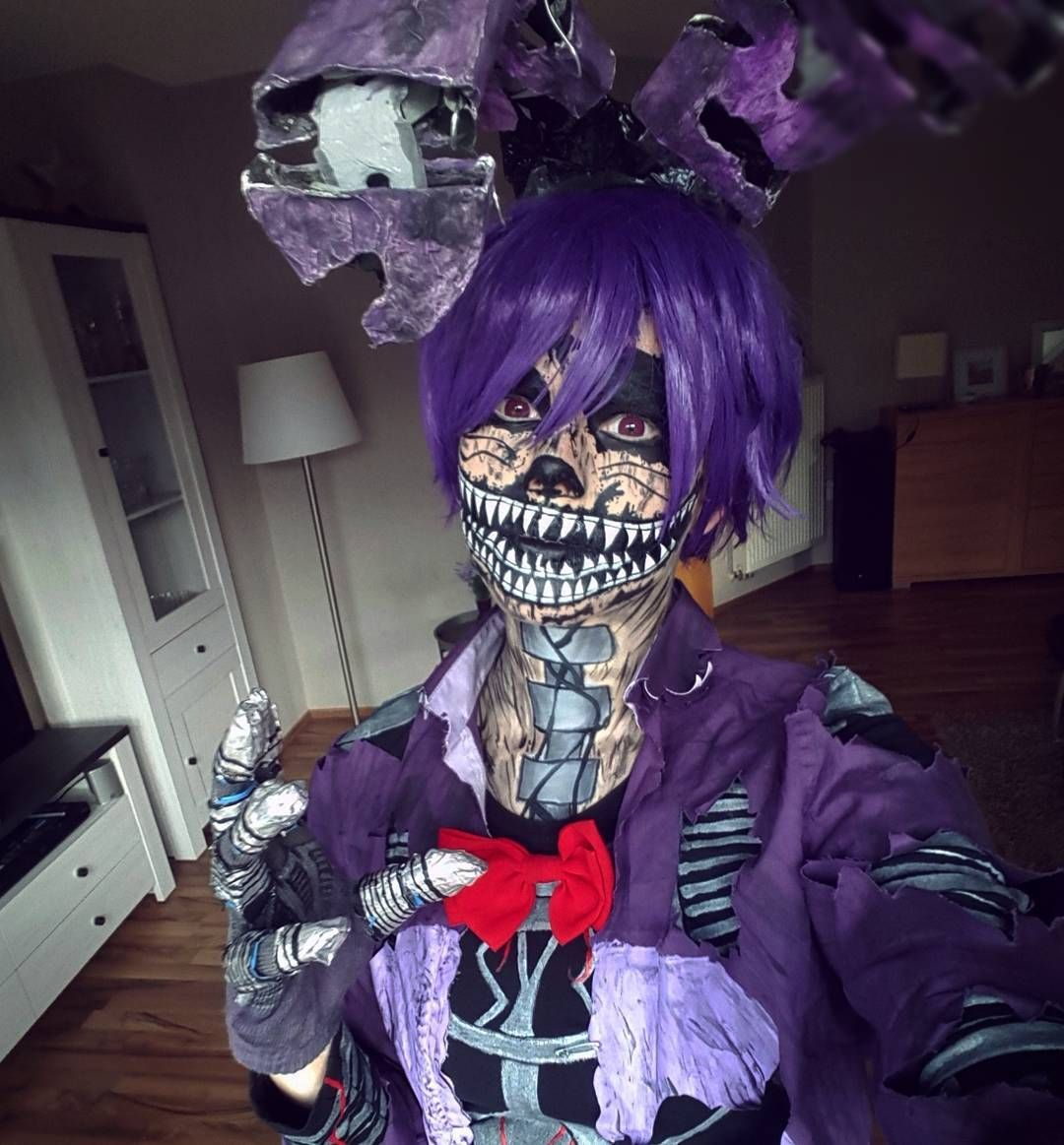 F fnaf bonnie costume for sale - Nightmare Bonnie Cosplay By Milchwoman Not In The Fnaf Fandom But This Is Freaking Amazing Makeup Step Night