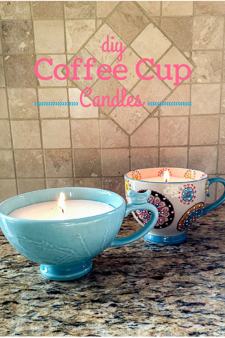 Diy coffee cup candles coffee cup homemade and cups diy coffee cup candles solutioingenieria Gallery