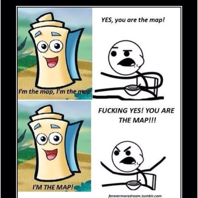 I'm the map, haha!(: