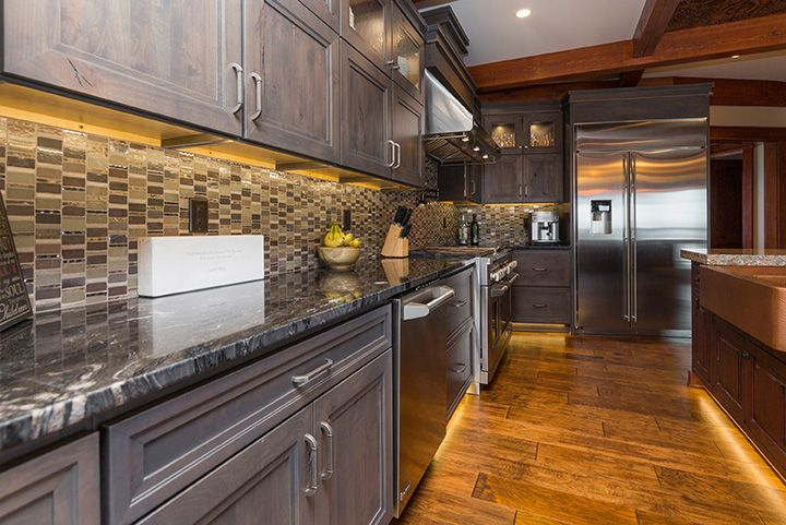 the ultimate lodge style kitchen is