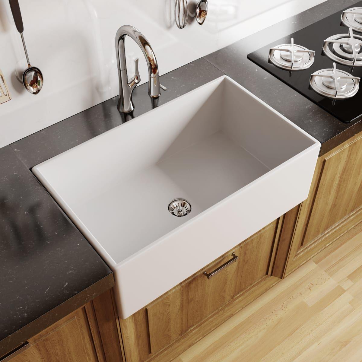 Top Kitchen Inspo March 2019 Farmhouse Sink Kitchen Kitchen Sink Decor Kitchen Design