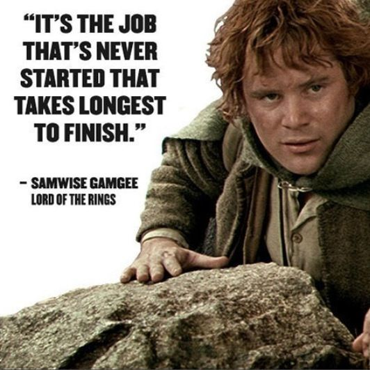 Lord of The Rings Inspirational quote | Quotes | Lord of the rings