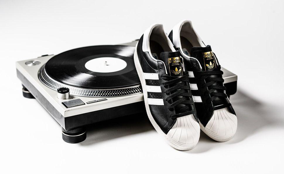 RUN DMC era adidas Originals Superstar 80s      SNEAKERS   