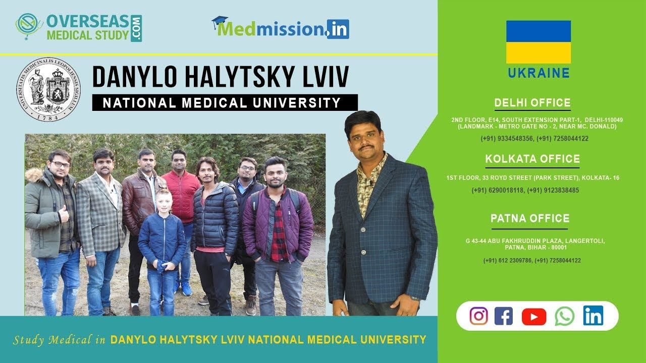 Danylo halytsky lviv national medical university mbbs in