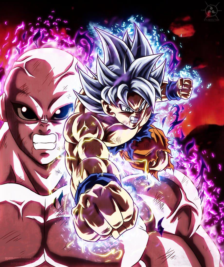 Como Dibujar A Goku Ultra Instinto Dominado Vs Jiren