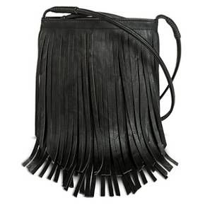Women s Fringe Crossbody Handbag Black - Mossimo Supply Co Festival  Outfits 6b7ff42a9f2d2