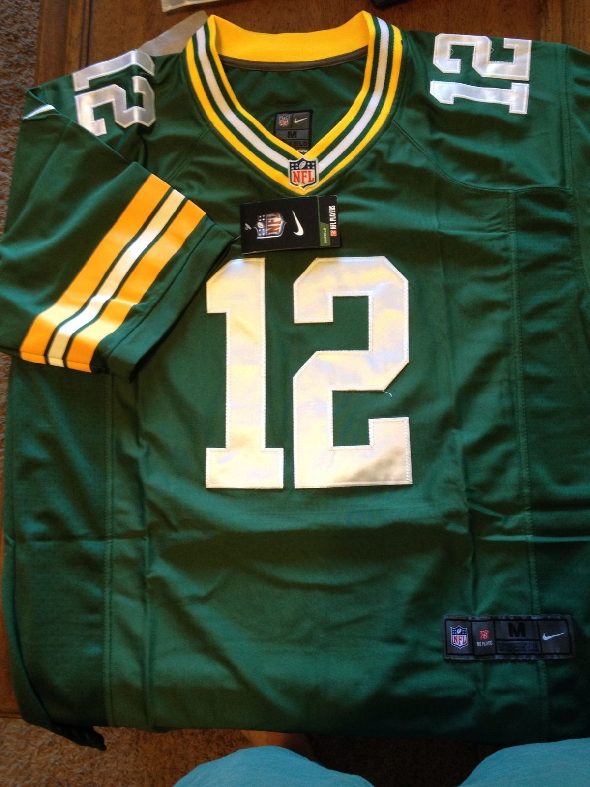 Aaron Rodgers Nfl Jersey Green Bay Packers Extra Large Xl Green Bay Packers Green Bay Nfl