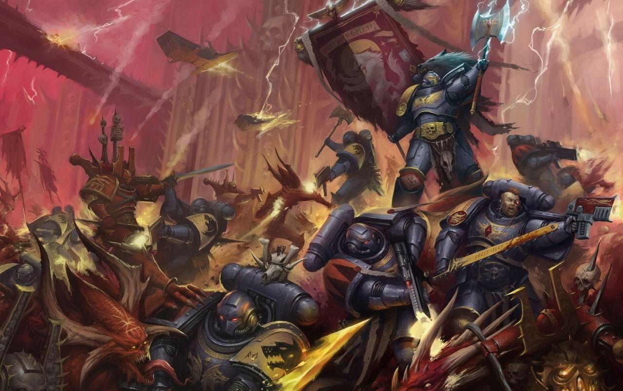 Pin By Tengku Zulhilmi On Legio Astarte Warhammer Warhammer 40k Artwork Space Wolves