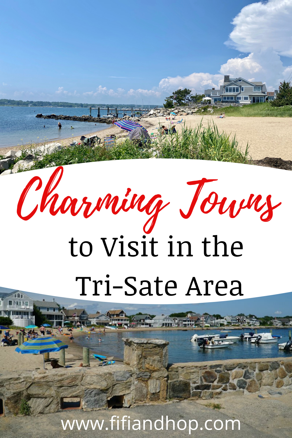 Guide to the most charming towns to visit in the Tri-State area (in Connecticut, New York and New Jersey). From beach towns to the bucolic countryside to the Catskills, these are the best small towns to visit. #Tristatearea #smalltowns #charmingtowns #connecticut #newyork #newjersey #travel #familytravel