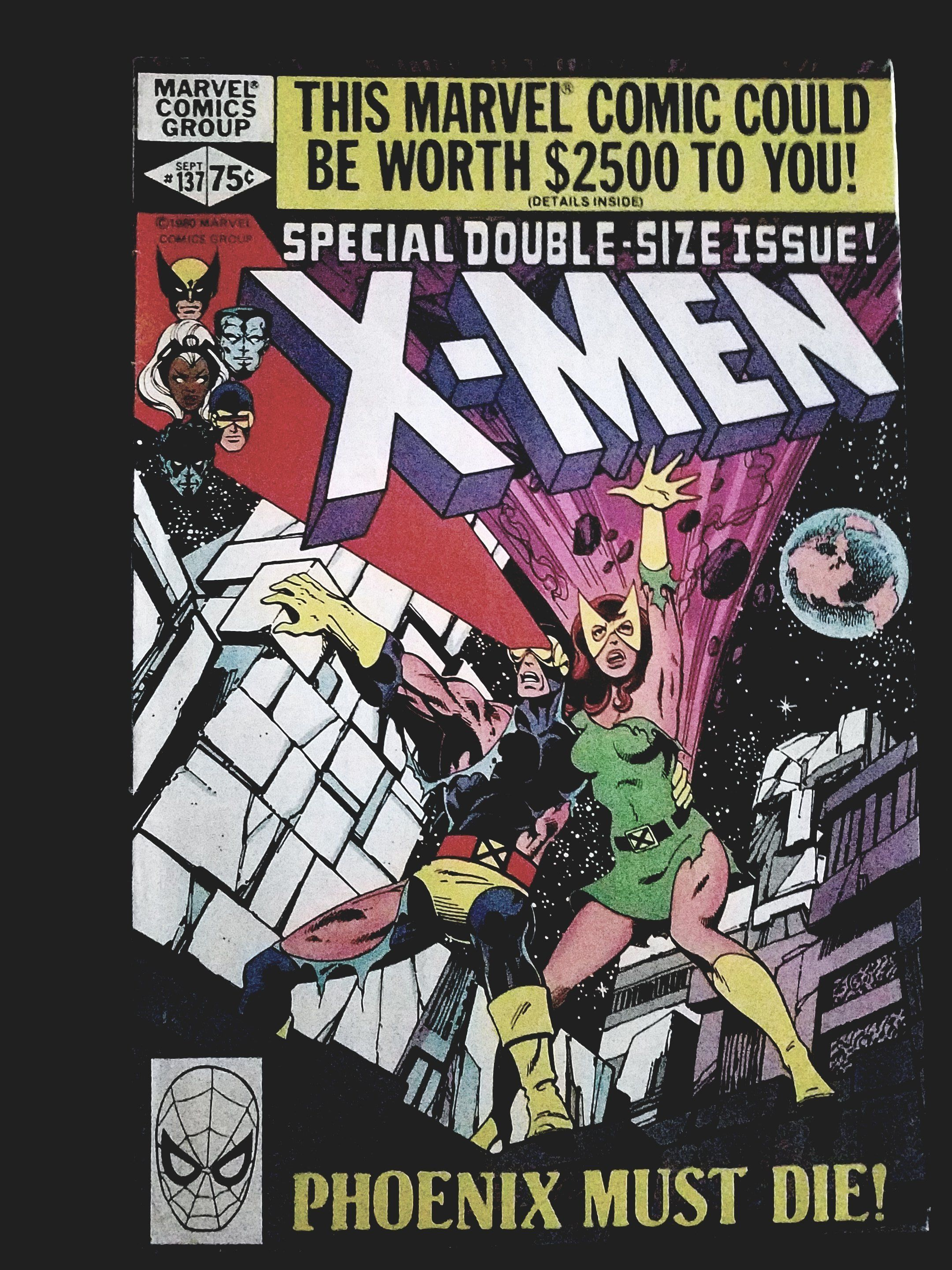 Uncanny X Men 137 Fate Of The Phoenix Xmen Comics Comic Book Covers Marvel Comic Books