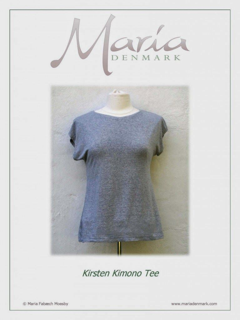 Free Kimono Top Pattern From Maria Denmark, Sewing Indie Month ...