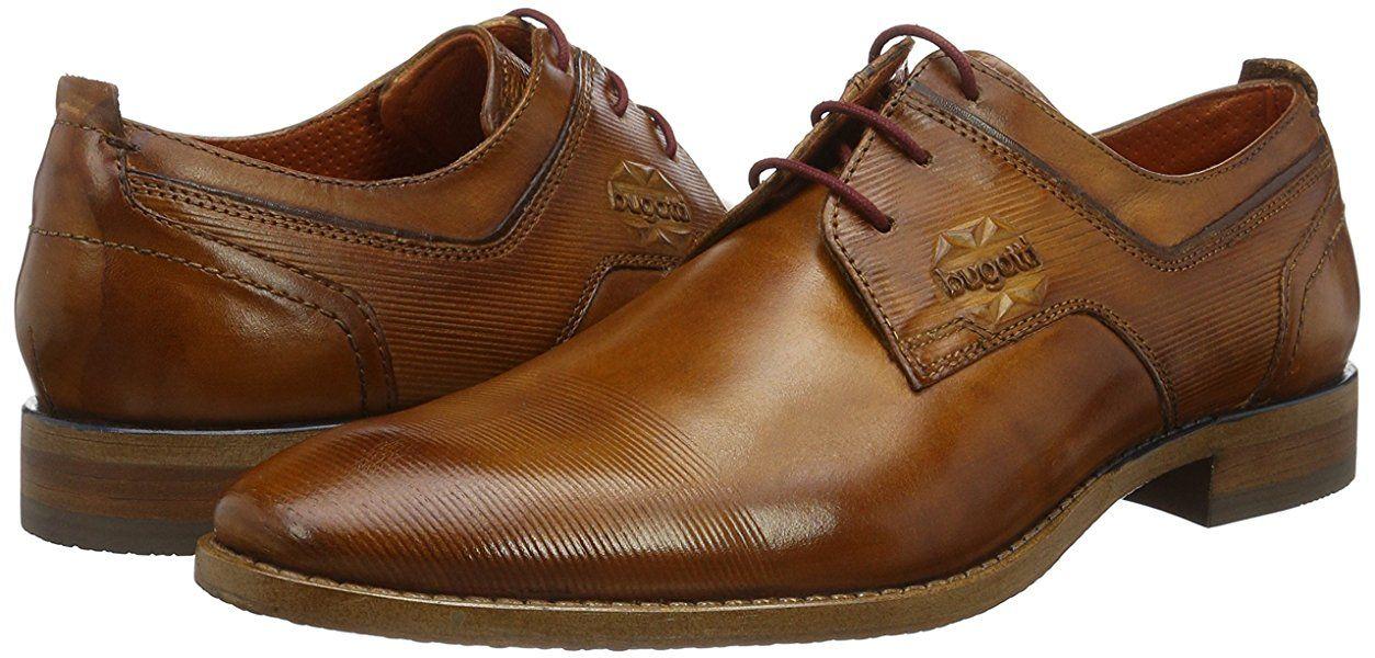 Kick Footwear - Zapatos de cordones para hombre, color marrón, talla EU 44