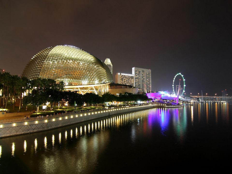 Our product brand, Monokote, for fire protection was used in the Esplanade Theatre at Singapore.