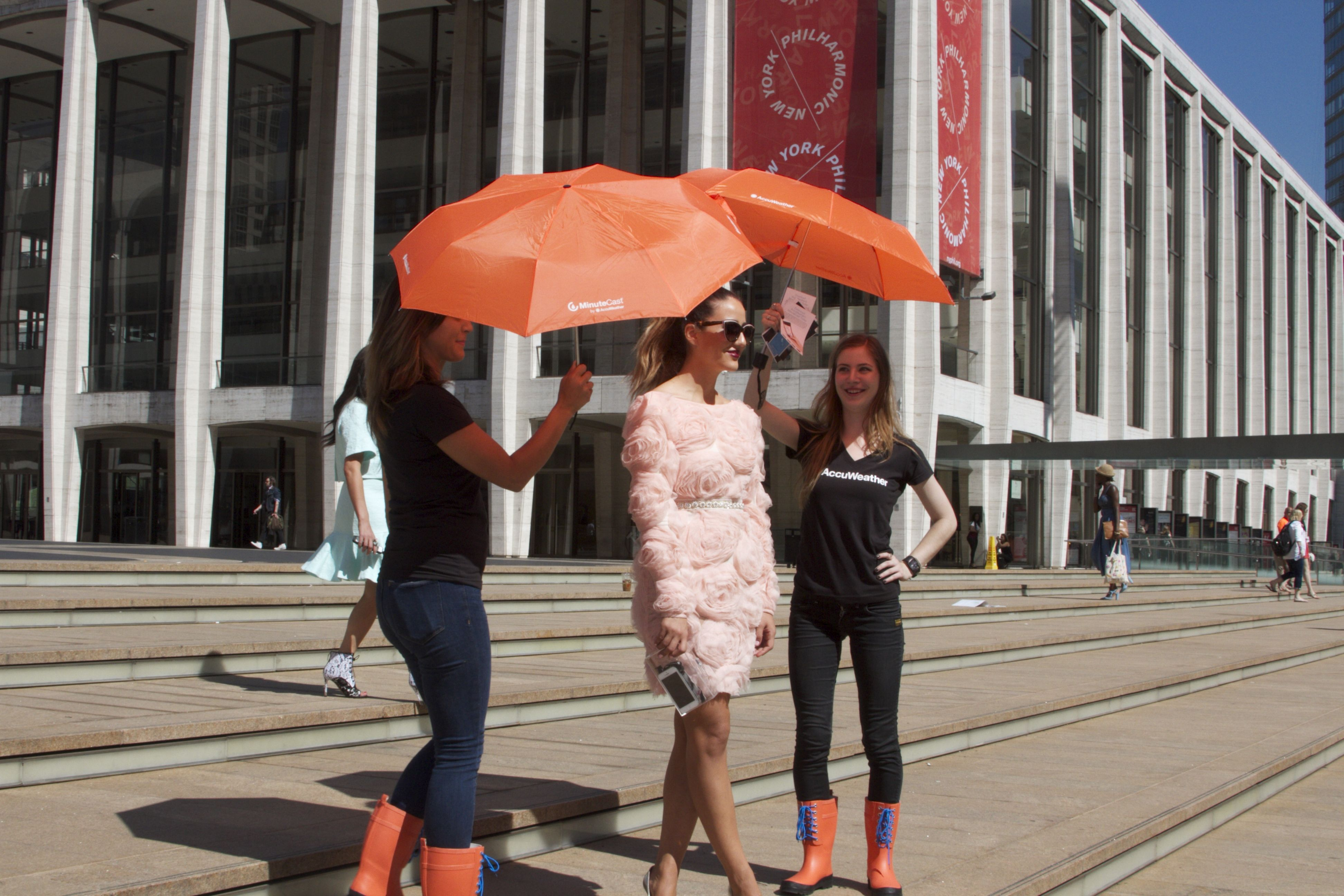 The AccuWeather MinuteCast Storm Squad is at this year's Fashion ...