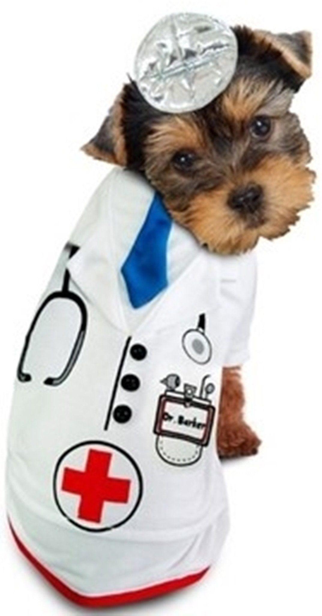 Doctor Barker Doctor S Uniform With Mirror Reflector Headband