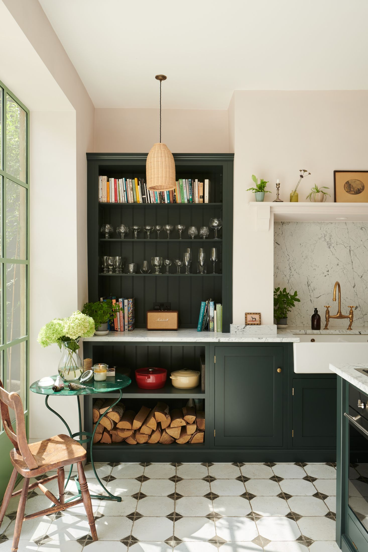 Kitchen of the Week 'Wes Anderson Meets Provencal' in West London ...