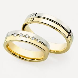 Wedding rings #wedding